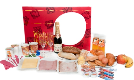 Vaderdag Ontbijt Champagne